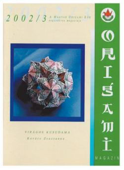 Magyar Origami Kör 2002/3 magazinja