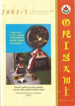 Magyar Origami Kör 2003/5 magazinja