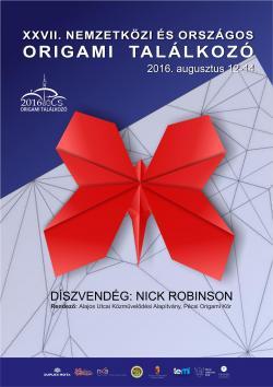 27. Nemzetközi és Országos Origami Találkozó - 2016 Pécs