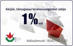 Nyilatkozzon adója 1%-ról a Magyar Origami Kör javára